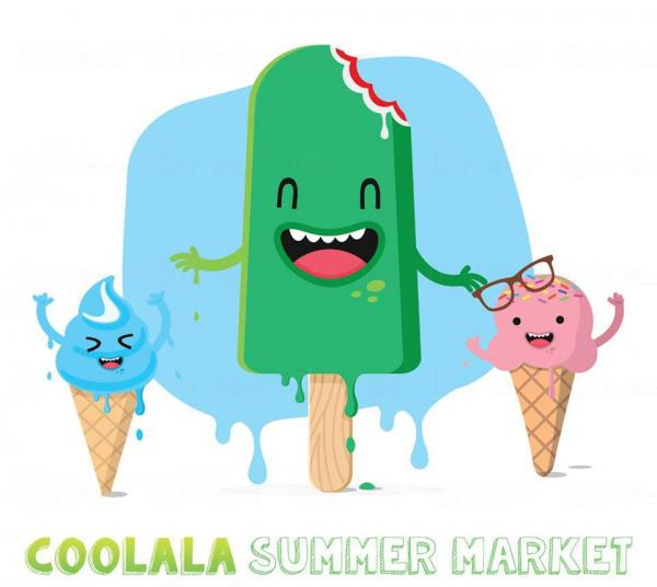 Coolala Summer Market (圖: FB@D2 Place Weekend Markets 週末市集)