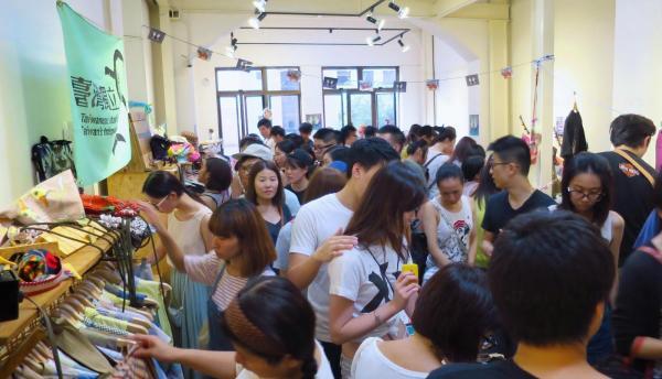 手_手市集去年暑假曾來港。(圖:U Blogger@qqlee2000)
