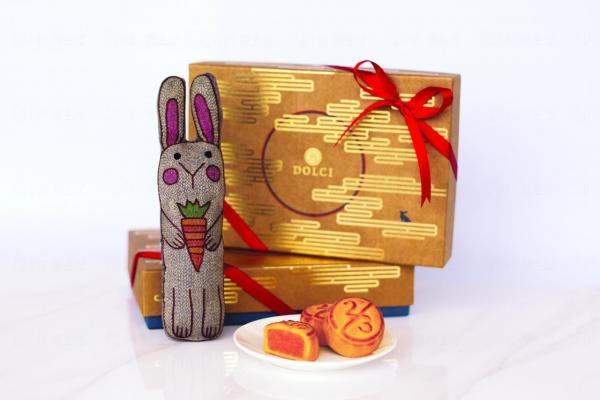 2/3 Dolci慈善月餅小兔禮盒套裝