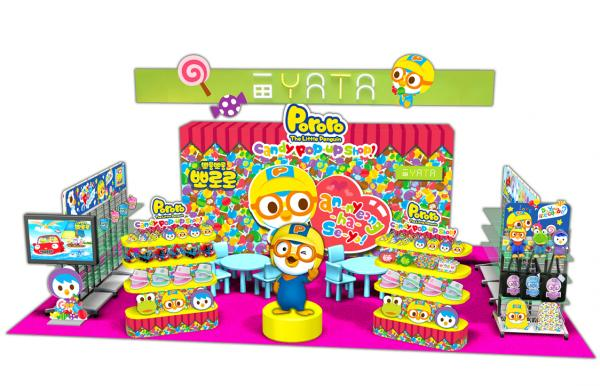 韓國人氣企鵝仔Pororo Candy Pop-up Store登陸一田