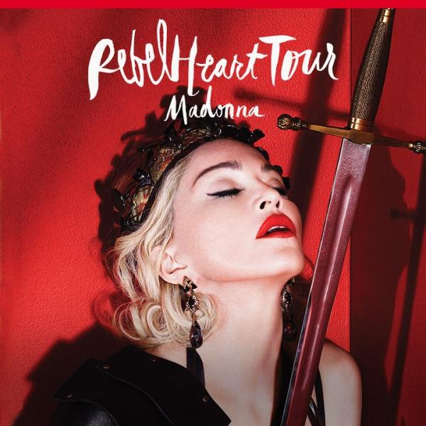 麥當娜《REBEL HEART TOUR》香港站(圖:FB@Live Nation Lushington Hong Kong)