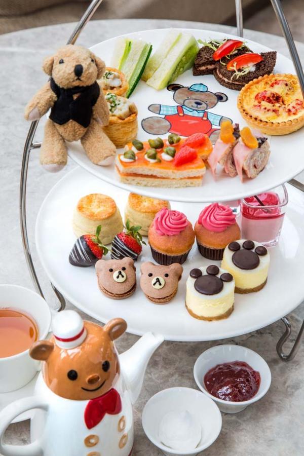 逸東酒店「Jordan the Bear滋味遊」英式下午茶