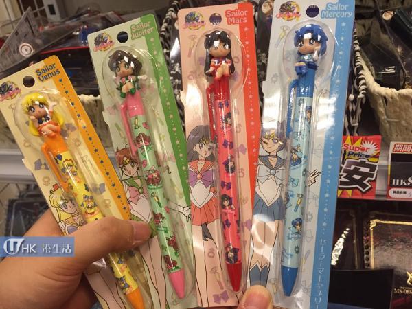 原子筆(Sailor Moon缺貨,其他角色都齊) $68