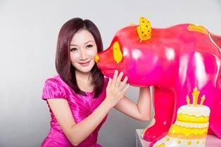 金鈴小姐作品「熊貓ling ling」