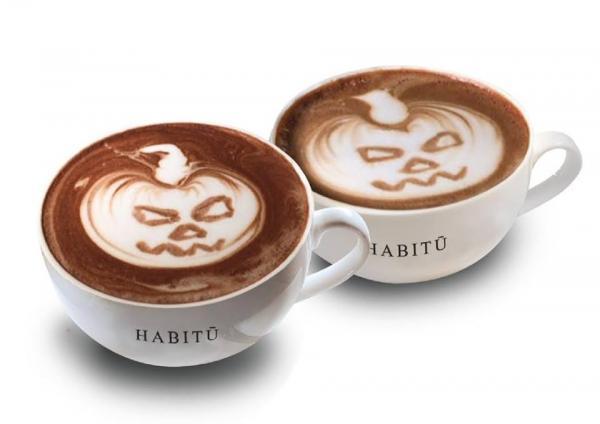 HABITŪ咖啡拉花工作坊 (圖:FB@caffeHABITU)