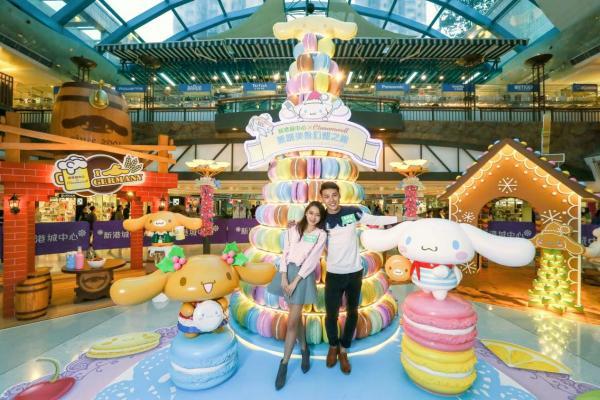 Cinnamoroll x新港城中心聖誕派對