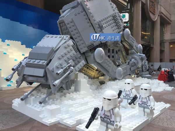 時代廣場聖誕星球大戰展覽