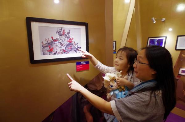 「迪士尼生命之繪-經典重現」藝術展覽