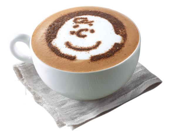 布朗尼朱古力咖啡