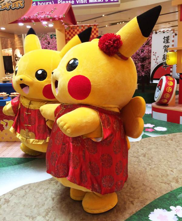 女版比卡超現身! Mikiki x寵物小精靈Pika新年祭
