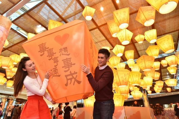 香港有得「放天燈」 ! 太古城限定天燈園
