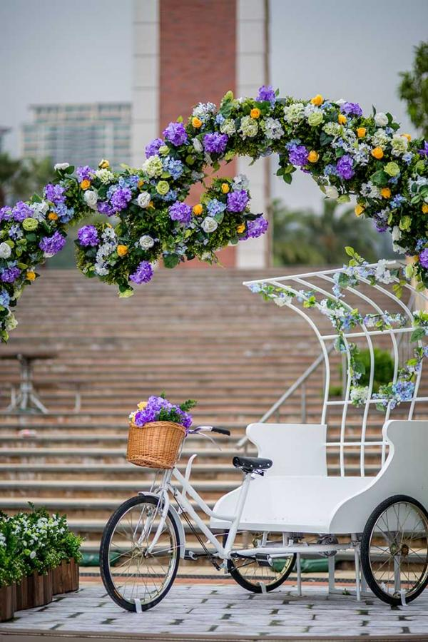 情人節好去處! 愉景灣花隧道、歐洲小花園