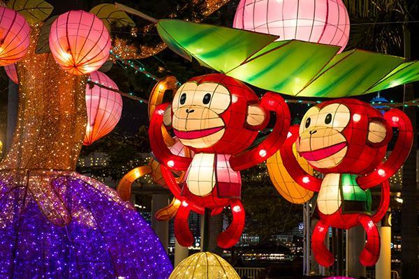 靈猴獻瑞!各區元宵綵燈會2016 (圖:政府新聞網)