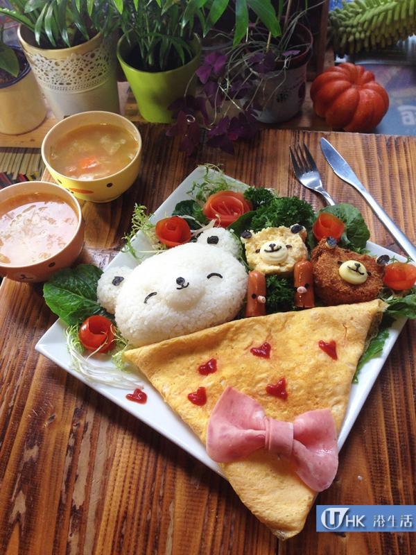J-Point Cafe全新可愛造型食品亮相