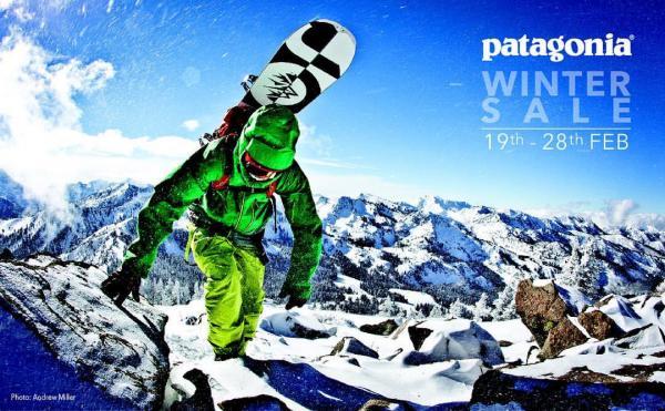 買轉季貨品!Patagonia冬季SALE低至4折