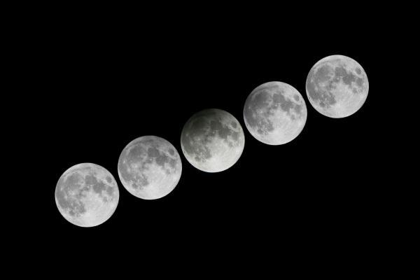 歷時逾3.5小時!3.23香港上空現「半影月食」 (圖片來源:香港天文台)