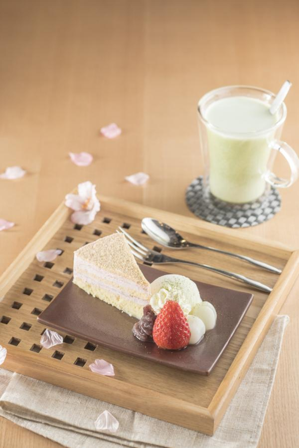 季節限定「桜の戀」蛋糕