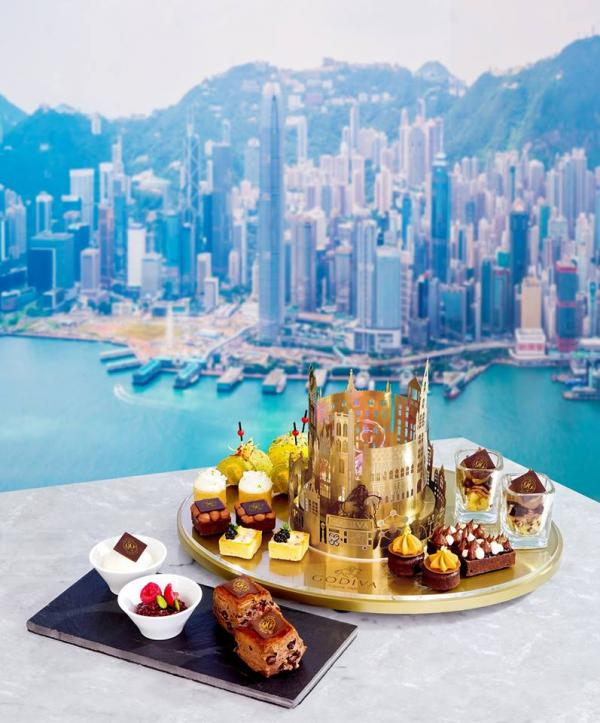 90周年甜品!GODIVA限量經典下午茶(圖:FB@Godiva Chocolatier (Asia))