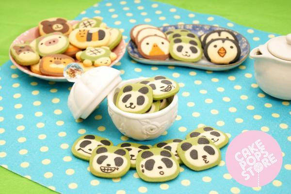 小熊貓手製動物曲奇(圖: fb@cake pops store)