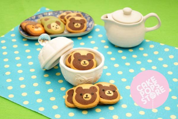 小熊手製動物曲奇(圖: fb@cake pops store)