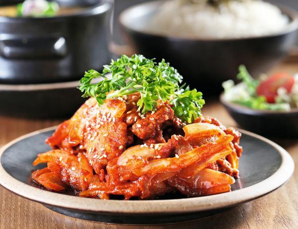 漢拏山辣豬肉飯套餐  $62