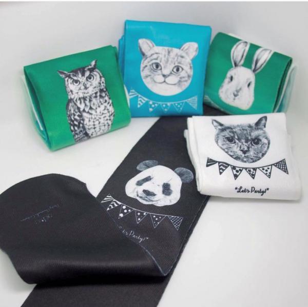 店內寄賣的動物襪子。(圖: fb@DeerField Handicraft & Design)