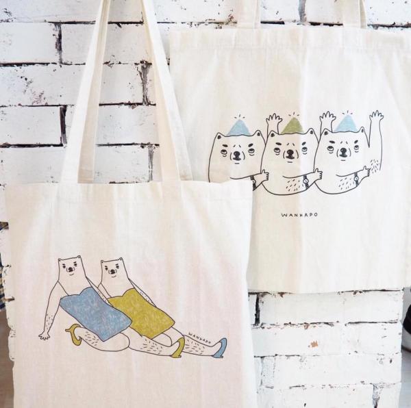 溫家寶的totebag。(圖: fb@DeerField Handicraft & Design)