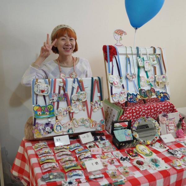 3月鹿田復活節市集所參與的攤檔。(圖: fb@DeerField Handicraft & Design)