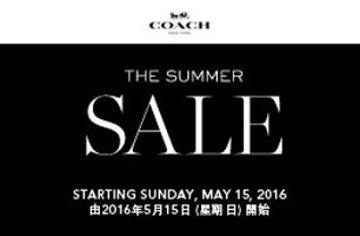低至5折!COACH Summer Sale