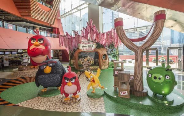 憤怒鳥飛到香港!全港最高Angry bird現身MegaBox