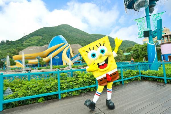海綿寶寶陪你瘋狂濕身!海洋公園夏水禮預告