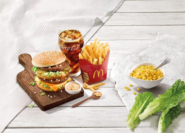 夏天清新快餐選擇!麥當勞全新凱撒沙律登場