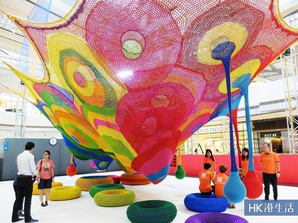 IFC手工編織遊樂場 7月起免費開放