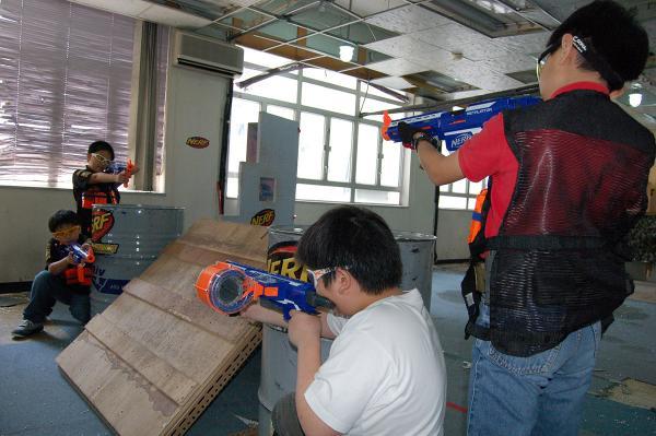 免費砌槍、AR體驗!荃灣Nerf槍體驗日