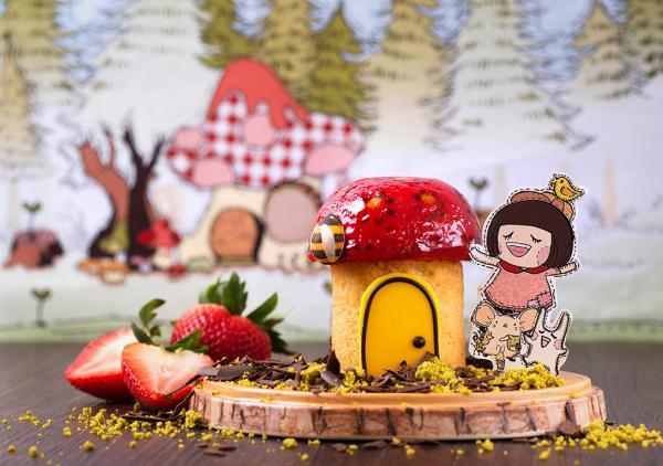 童話故事變甜品!Chocolate Rain夢幻甜品