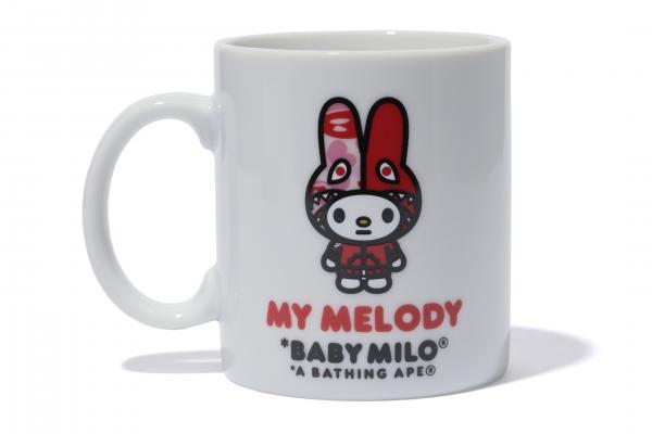 小紅帽變潮人!A BATHING APE x MY MELODY系列