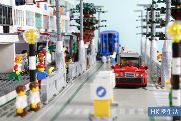 4萬粒LEGO砌出獅子山下舊香港 鑽石山藝術微型展