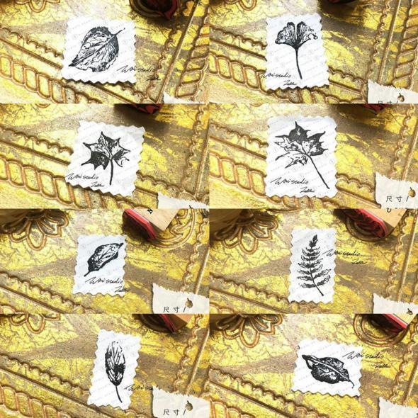 siuyin文房具的橡皮印章。(圖: ig@siuyin_sharing)