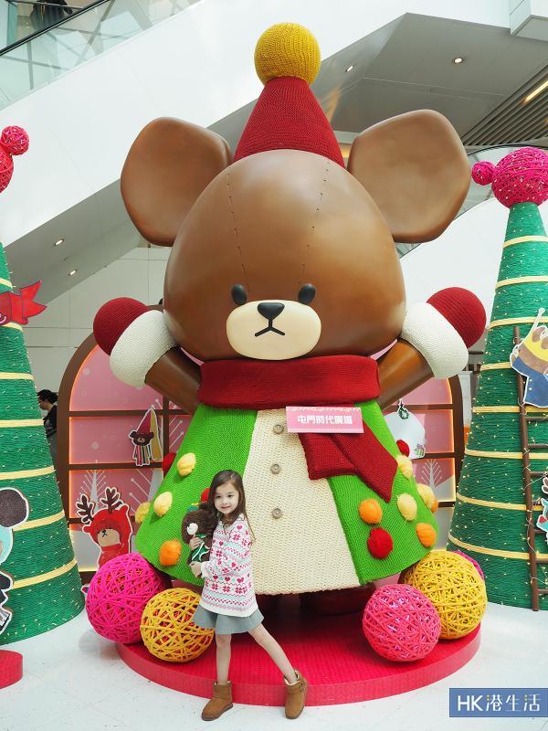 小熊學校聖誕展2016 全球最高4米JACKIE登場
