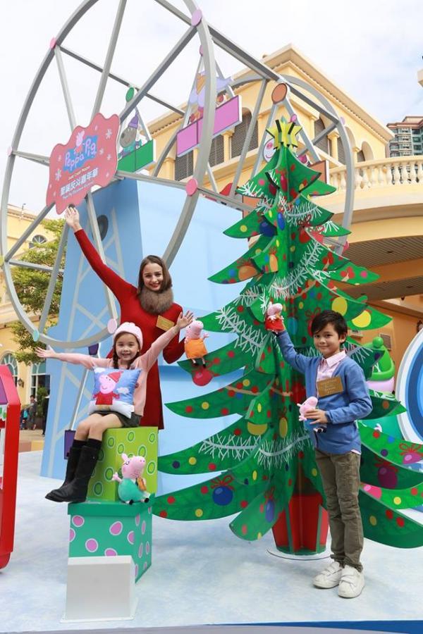 香港Peppa Pig戶外聖誕嘉年華