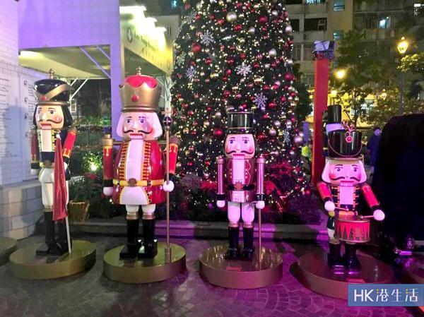 2016聖誕好去處灣仔胡桃夾子大街