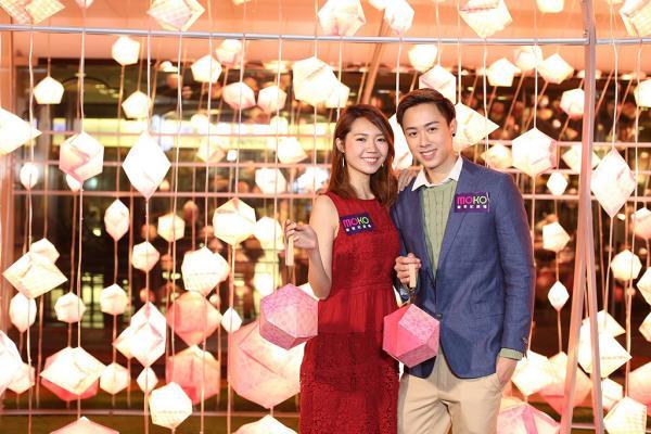 超浪漫!MOKO新世紀廣場舉行甜蜜彩燈會