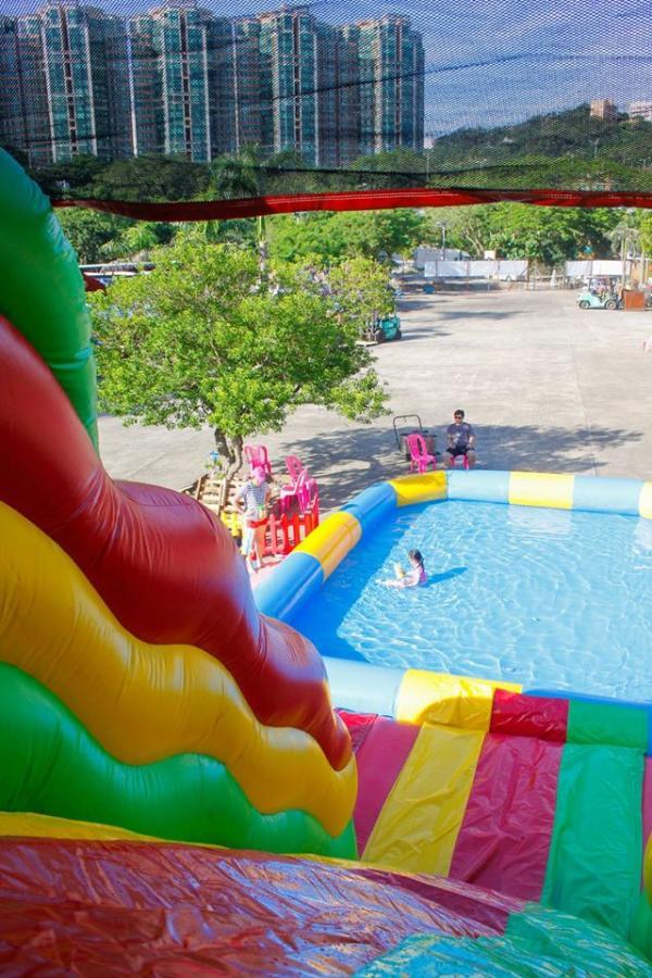 $88任玩2粒鐘優先售票!12米巨型滑梯燒烤水上樂園