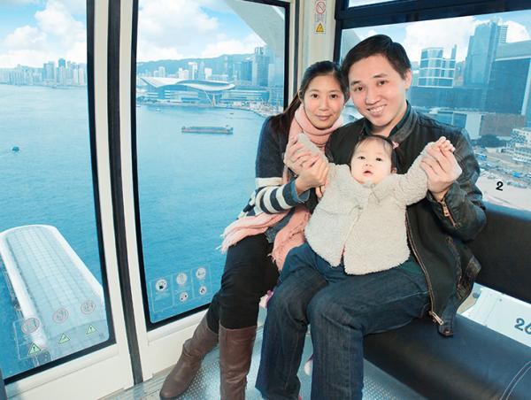 香港摩天輪父親節優惠 子女同坐父親免費