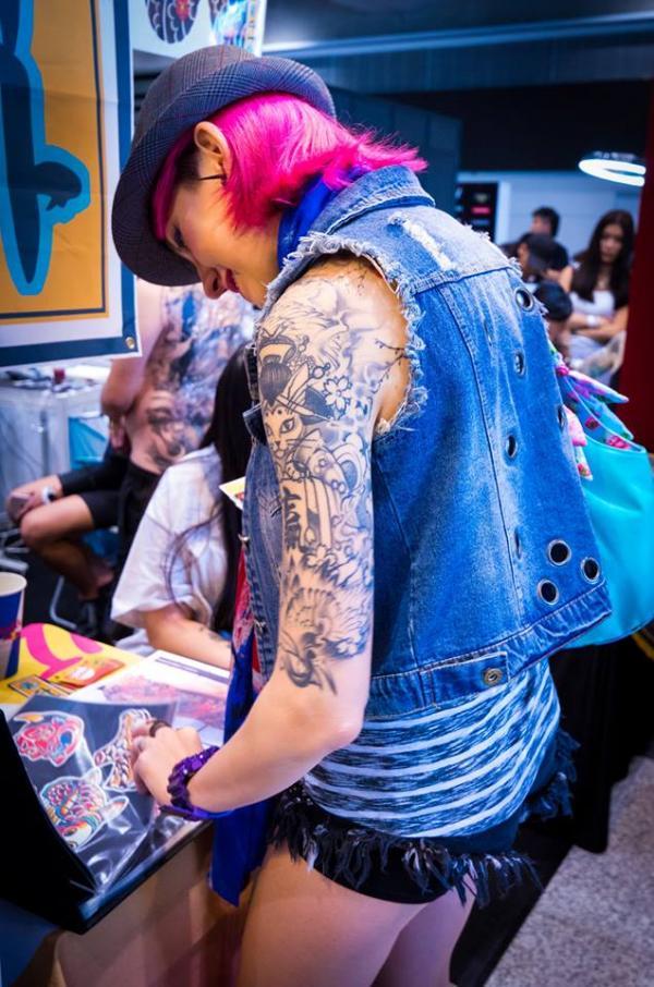 香港紋身展9月啟德舉行 早鳥訂票享8折