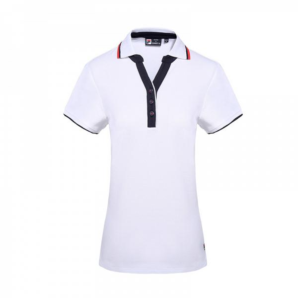 FILA Moden Heritage女裝白色Polo Tee $198 (限量45件)