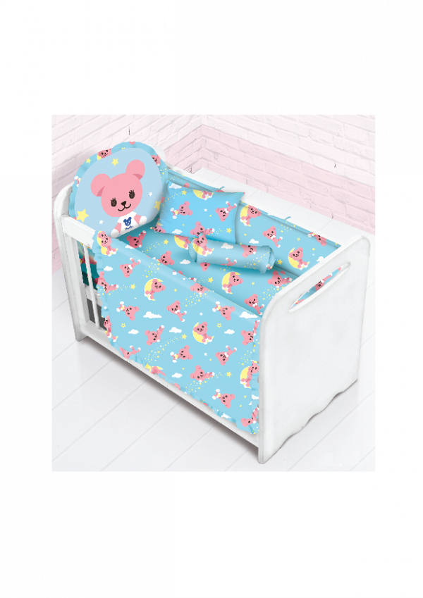 Cherry Post Pet 12件嬰兒床品套裝 $499