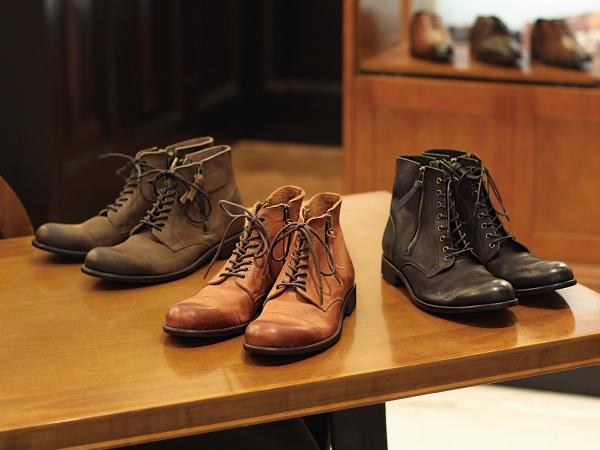 HOAX ARGIS Washed Double Zip Boots Handmade in Japan $2399