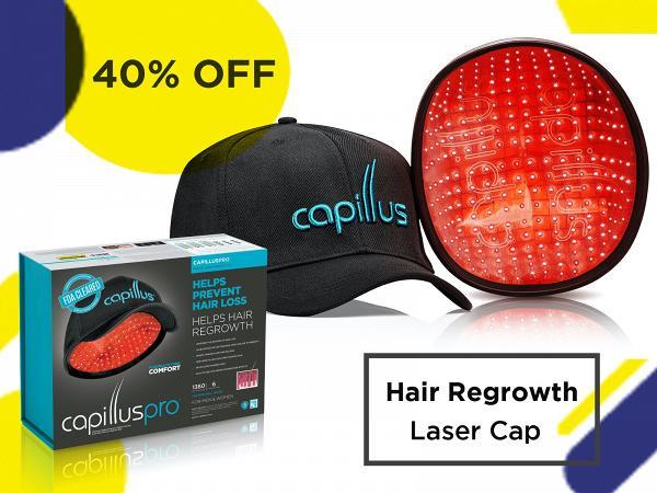 capillus 40percentoff Capillus Pro激光活髮帽