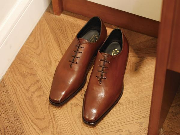 HOAX Elastico Whole Cut Oxford Handmade in Italy $1799
